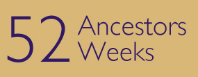 52 Ancestors / 52 Weeks is an idea proposed by Amy Johnson Crow. Link on the image for more details about it.