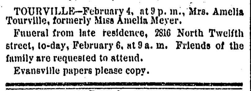 Meyer Amelia st louis daily globe-democrat 6 feb 1882