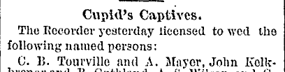 St. Louis Daily Globe-Democrat, 19 octobre 1881, p. 11